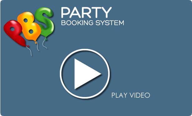party booking system video